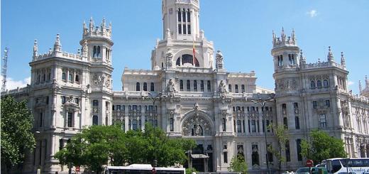 Palacio de las Comunicaciones, Madrid