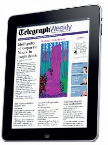 Telegraph Weekly iPad