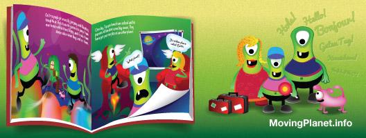Children's book - helping children relocate
