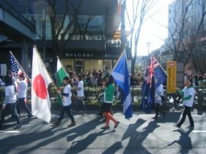 Tokyo Patrick's day parade