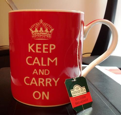 The British love tea.