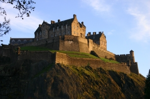 edinburgh castle scotland blog