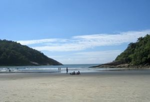 beach in sao paulo