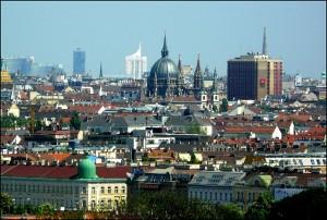 Vienna city view