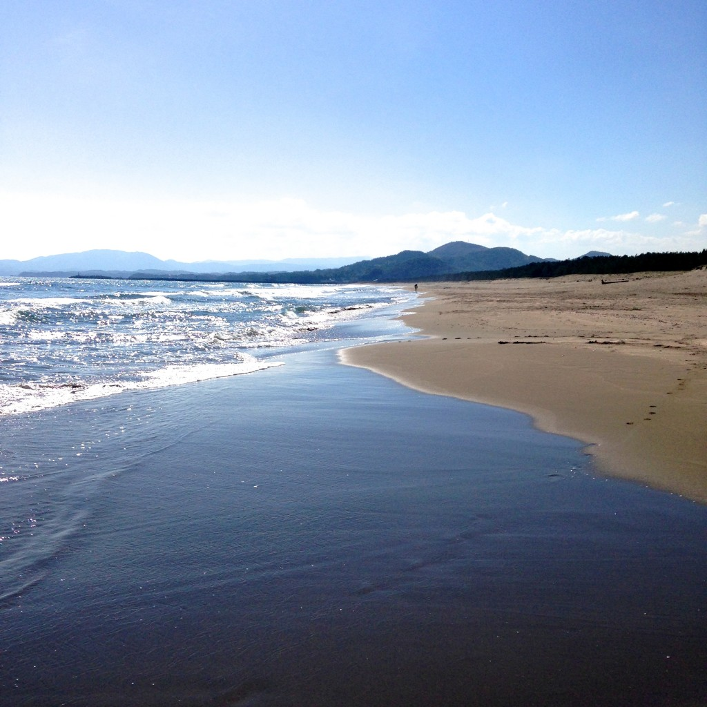 Irino Beach in Kochi Prefecture